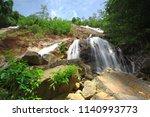 namtok tone nga chang or the... | Shutterstock . vector #1140993773