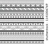 seamless geometric pattern for... | Shutterstock .eps vector #1141006769