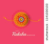 illustration of raksha bandhan... | Shutterstock . vector #1141030103