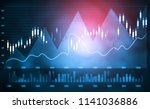 financial stock market  graph.... | Shutterstock . vector #1141036886