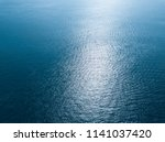 sea surface aerial view | Shutterstock . vector #1141037420