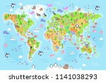 vector illustration of world... | Shutterstock .eps vector #1141038293