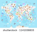 vector illustration of world... | Shutterstock .eps vector #1141038833