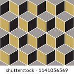 abstract geometric  hexagonal... | Shutterstock .eps vector #1141056569