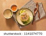 exotic vietnamese food...   Shutterstock . vector #1141074770