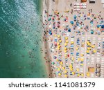 costinesti  romania   july 15 ... | Shutterstock . vector #1141081379