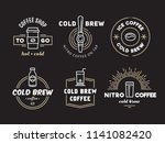 Cold Brew Coffee And Nitro...