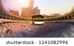 praying in mecca at kaaba | Shutterstock . vector #1141082996