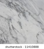 Marble texture, White Carrara variety, close-up - stock photo
