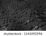 3d render plastic background... | Shutterstock . vector #1141092596