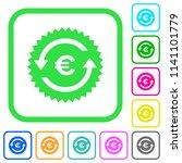 euro pay back guarantee sticker ... | Shutterstock .eps vector #1141101779