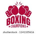 vector vintage logo for a... | Shutterstock .eps vector #1141105616