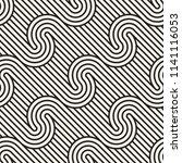 vector seamless pattern. modern ... | Shutterstock .eps vector #1141116053