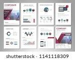infographic brochure elements...   Shutterstock .eps vector #1141118309