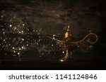 image of magical mysterious... | Shutterstock . vector #1141124846
