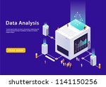 ultraviolet isometric powered... | Shutterstock .eps vector #1141150256
