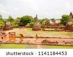 ayutthaya  thailand   may 30 ... | Shutterstock . vector #1141184453