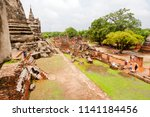 ayutthaya  thailand   may 30 ... | Shutterstock . vector #1141184456