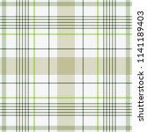 tartan traditional checkered... | Shutterstock .eps vector #1141189403