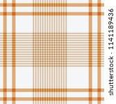 tartan traditional checkered... | Shutterstock .eps vector #1141189436