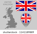 colorful flag  map pointer and...   Shutterstock .eps vector #1141189889