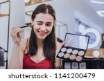 getting ready. beaming good... | Shutterstock . vector #1141200479