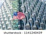 london  july  2018  exterior... | Shutterstock . vector #1141240439