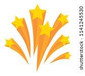 stars burst elements  vector... | Shutterstock .eps vector #1141245530