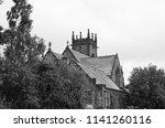 a church found alongside... | Shutterstock . vector #1141260116
