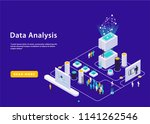 ultraviolet isometric high... | Shutterstock .eps vector #1141262546