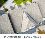 shingled roof closeup view | Shutterstock . vector #1141275119