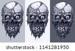 detailed graphic realistic cool ... | Shutterstock .eps vector #1141281950