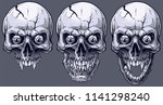detailed graphic realistic cool ... | Shutterstock .eps vector #1141298240