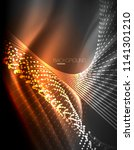 smooth light effect  straight... | Shutterstock .eps vector #1141301210