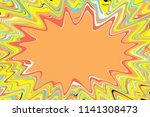 bright yellow  pink  blue and... | Shutterstock . vector #1141308473