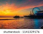 visitors enjoy scenic sunset...