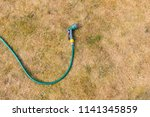 drought conditions   hosepipe... | Shutterstock . vector #1141345859