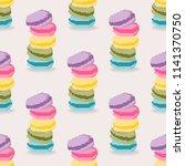 vector illustrator of seamless... | Shutterstock .eps vector #1141370750