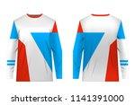 design for sublimation print.... | Shutterstock .eps vector #1141391000