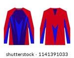 design for sublimation print.... | Shutterstock .eps vector #1141391033
