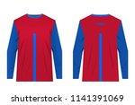 design for sublimation print.... | Shutterstock .eps vector #1141391069
