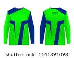 design for sublimation print.... | Shutterstock .eps vector #1141391093