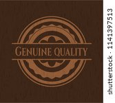 genuine quality vintage wood... | Shutterstock .eps vector #1141397513