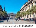 paris  france   may 10  2017 ... | Shutterstock . vector #1141420733