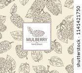 Background With Mulberry ...