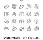 bakery well crafted pixel... | Shutterstock .eps vector #1141422683