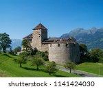 vaduz  liechtenstein   august... | Shutterstock . vector #1141424030