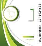 professional business design... | Shutterstock .eps vector #1141424633