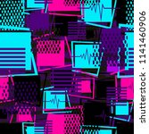abstract seamless sport pattern ... | Shutterstock .eps vector #1141460906