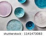Set Of Porcelain Handcraft...